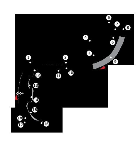 F1 Mónaco map
