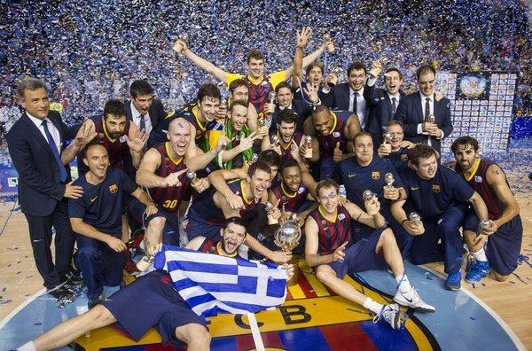 El Barça campeón de la liga ACB